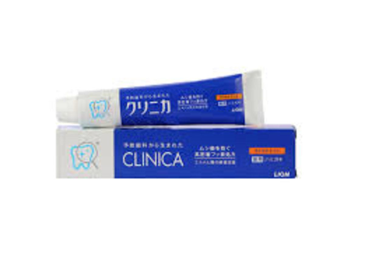 日本LION獅王CLINICA Horizonal分解牙垢防口臭酵素潔淨牙膏(輕柔薄荷味) 130g
