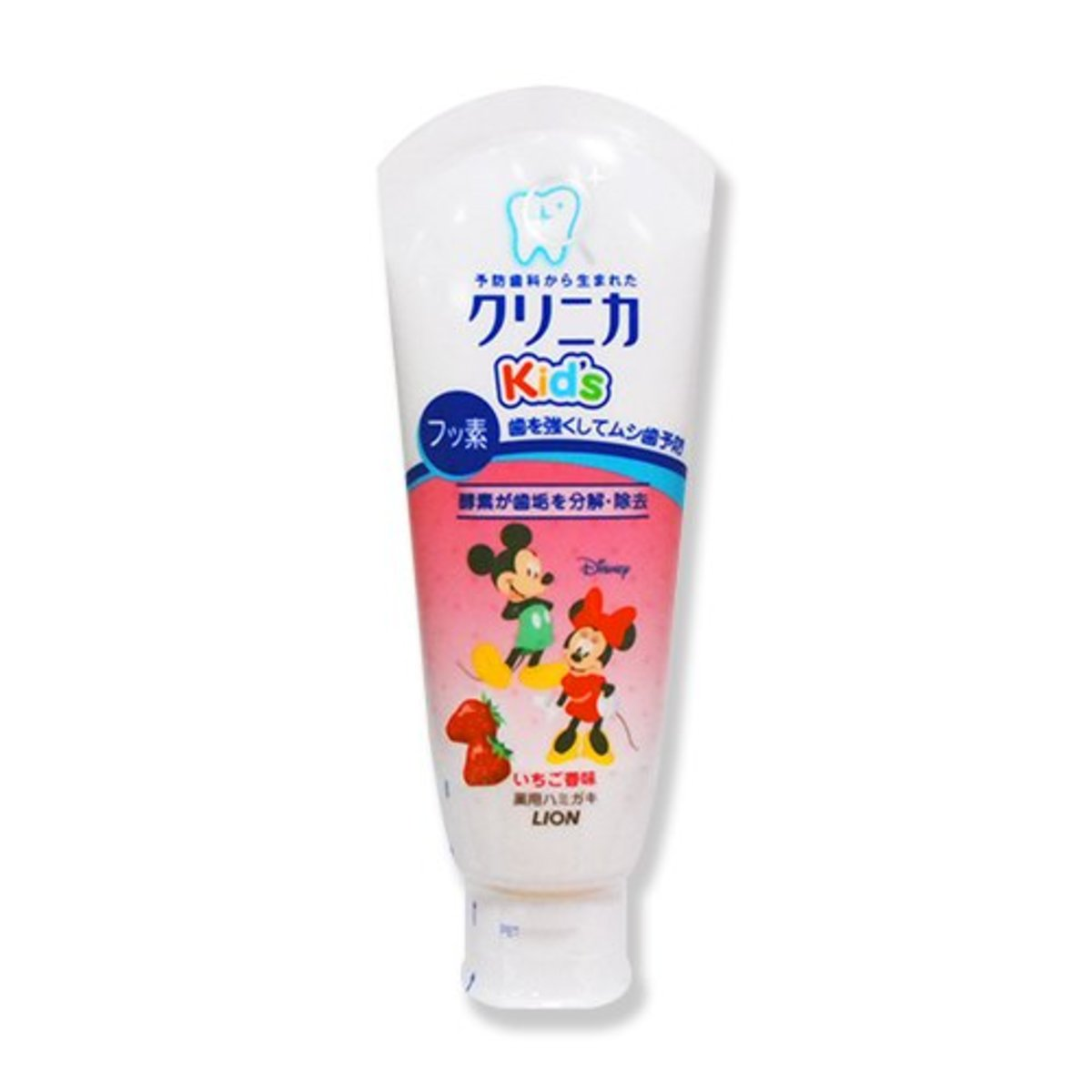 Lion Clinica Kid's toothpaste fresh strawberries 60g