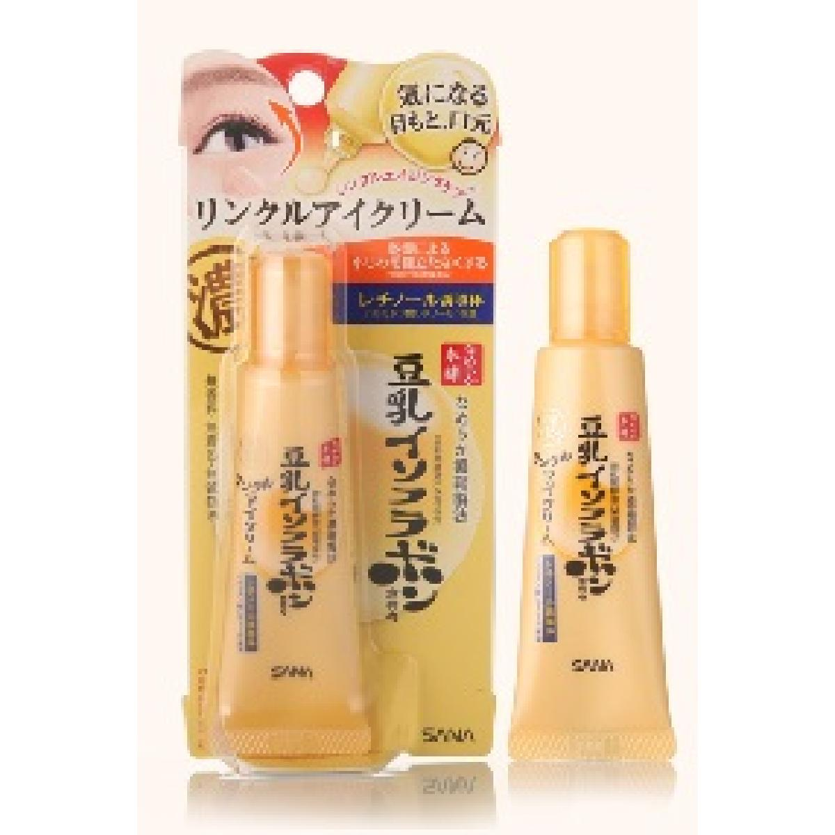Japan SANA Nameraka Honpo Soy Milk Isoflavone Wrinkle Eye Cream 25g (Parallel import)