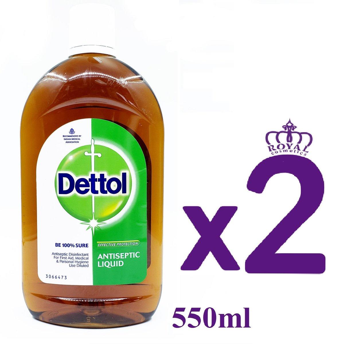 Antiseptic Liquid 550ml x2 [Parallel Import] (8901396354604)