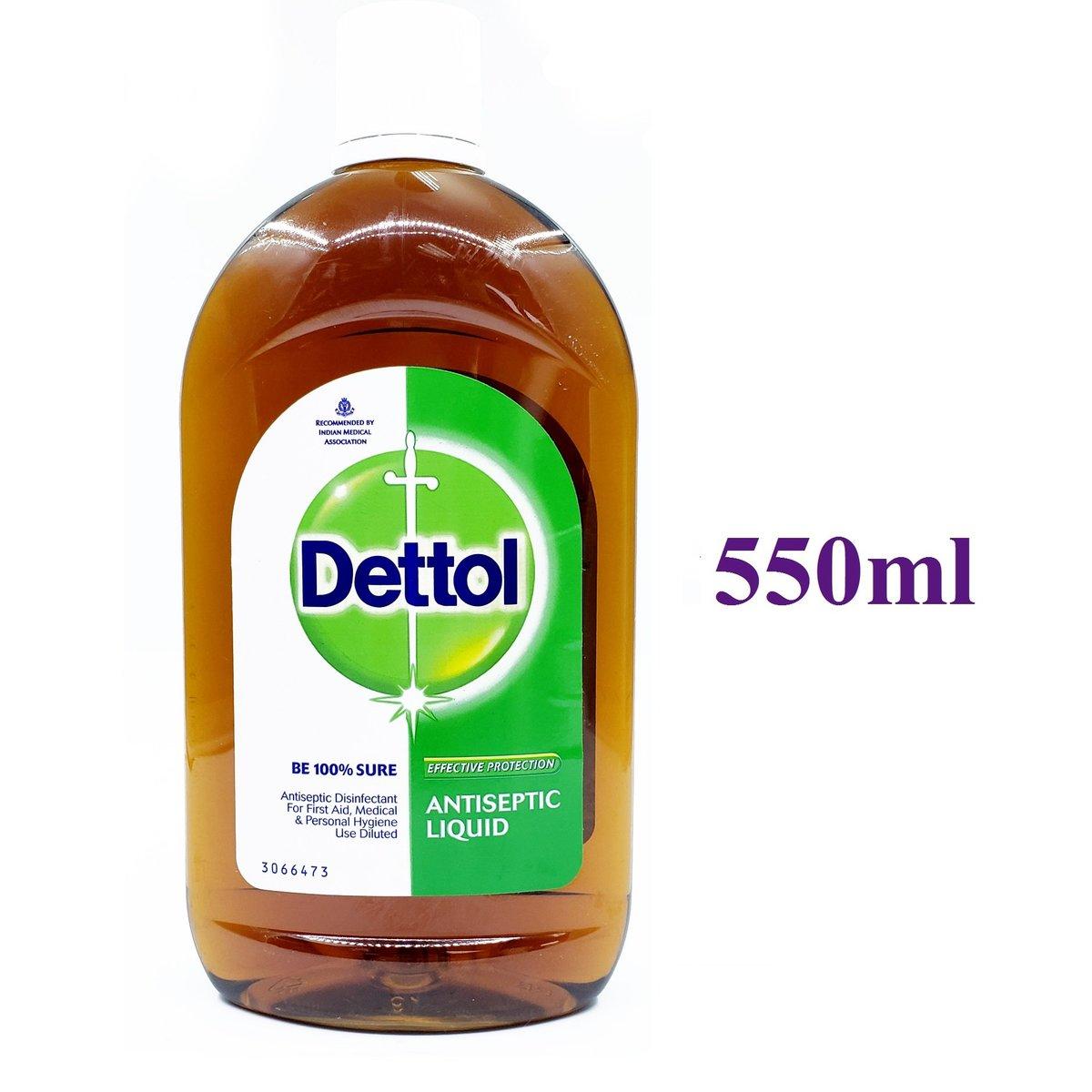 Antiseptic Liquid 550ml [Parallel Import] (8901396354604)
