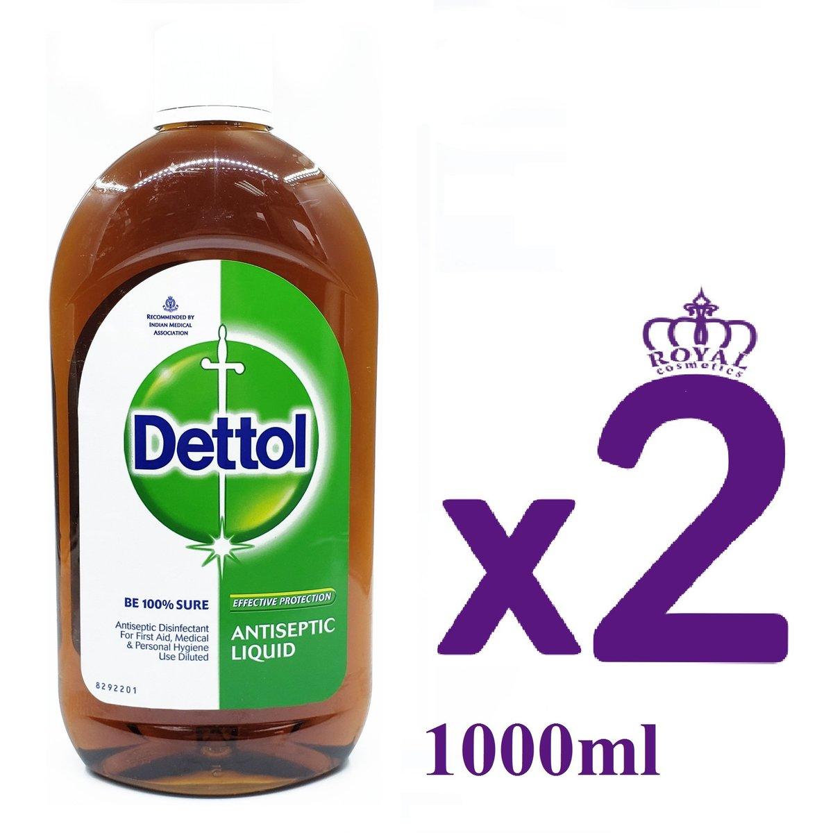 消毒藥水 1000ml x2 [平行進口] (8901396319702)