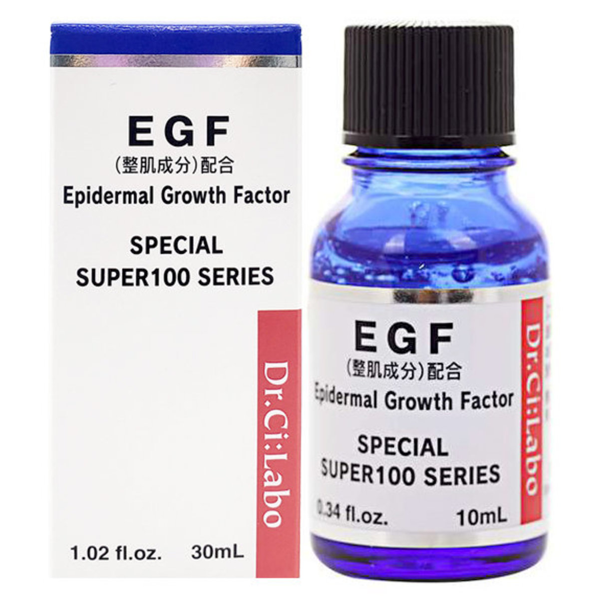 Super100 EGF 高濃度修護精華液 30ml [平行進口] (4524734124406)