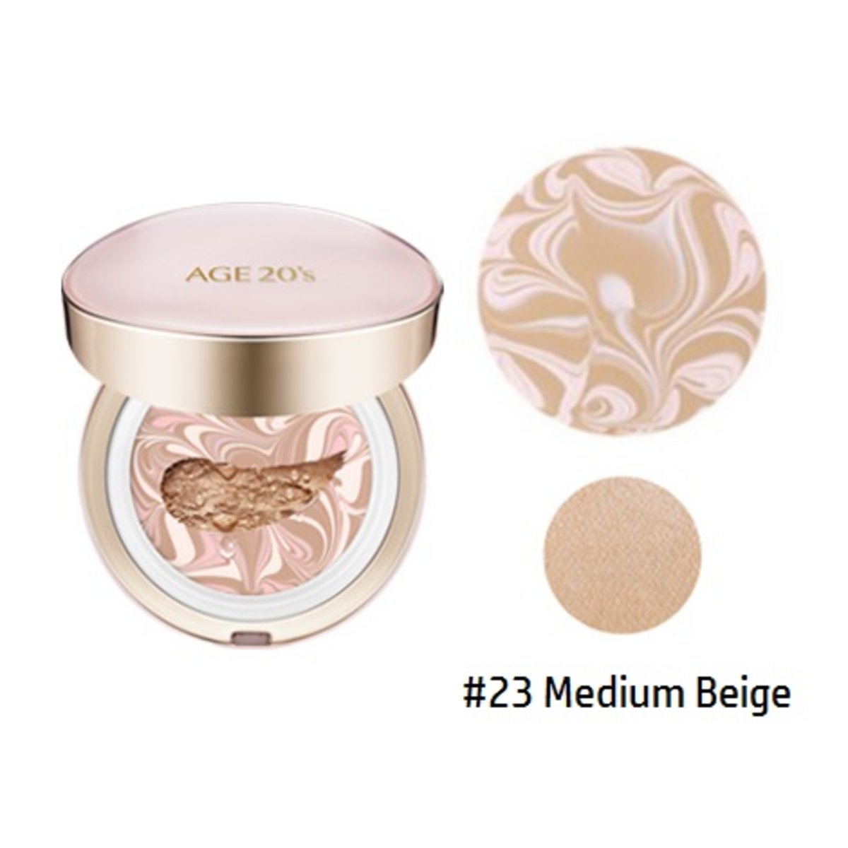 Signature Essence Cover Pact Moisture #23 Medium Beige (14g x2) (8801046306505)