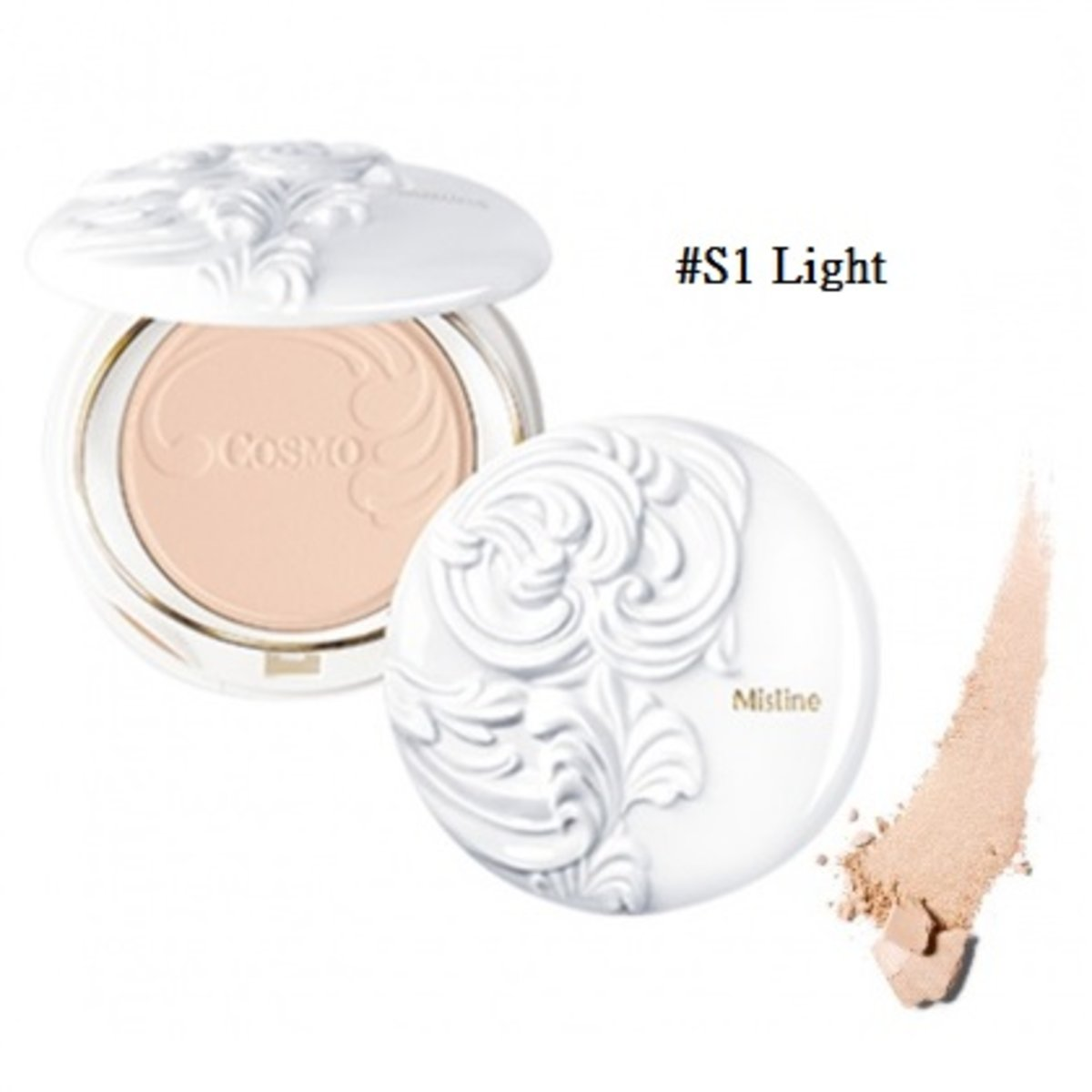 Cosmo Smooth And Clear Super Powder #S1 Light 10g (8855629008010)
