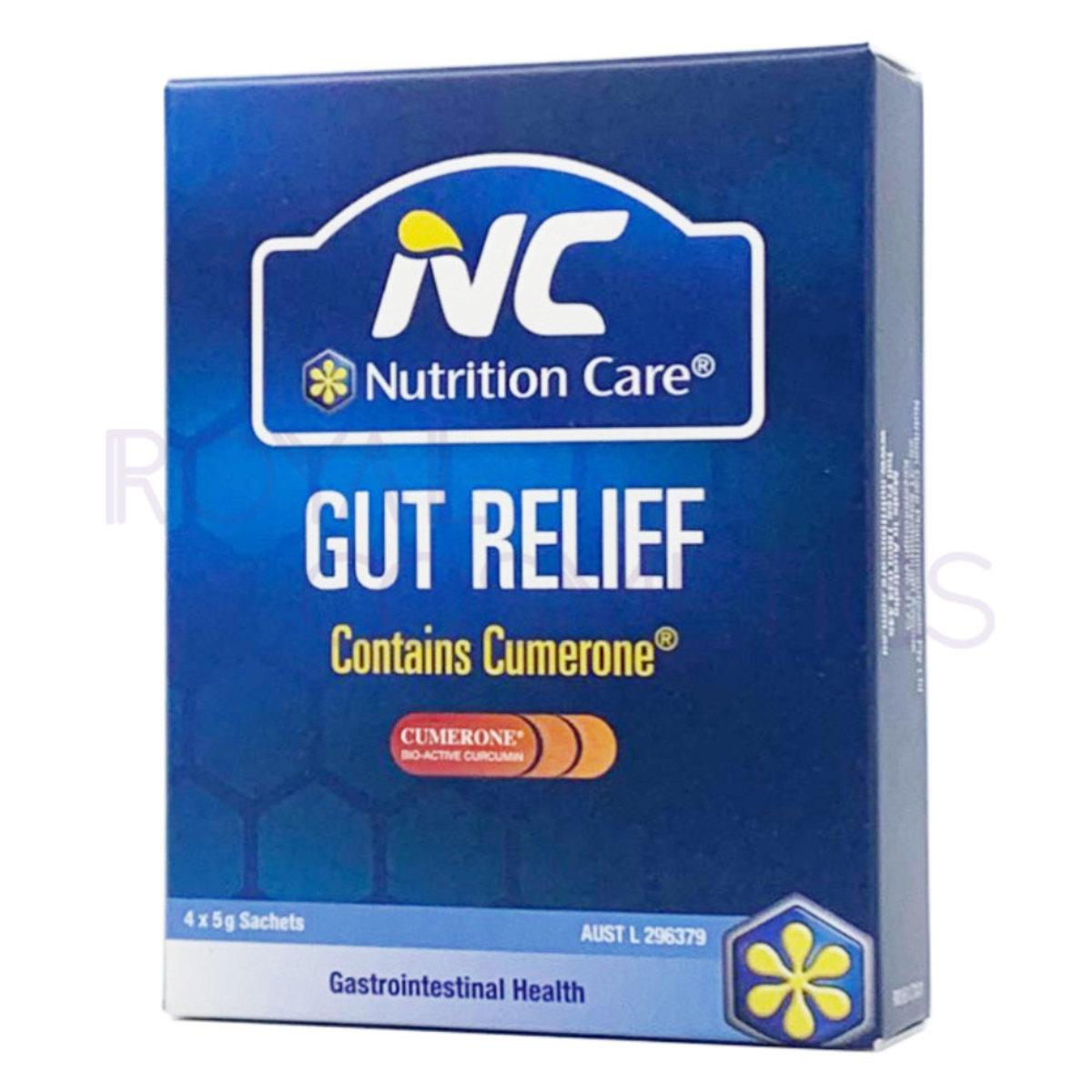Gut Relief Gastrointestinal Health Powder 5g x 4 EXP:2021.02 [Parallel Import] (9326939005123)