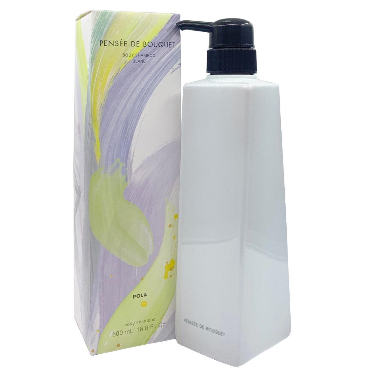 Pensee De Bouquet Body Shampoo Blanc 500ml [Parallel Import] (4953923307298)