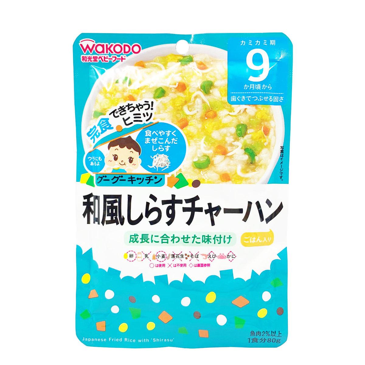 日式銀魚炒飯 #9個月或以上 80g (此日期前最佳: 2021年3月) (181633)