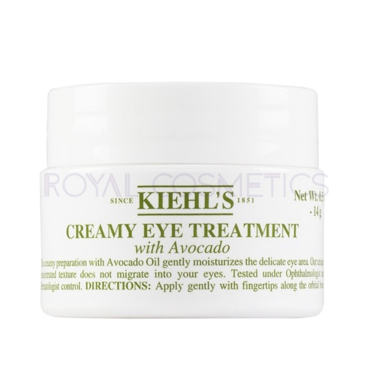 Creamy Eye Treatment with Avocado 14g [Parallel Import Product]