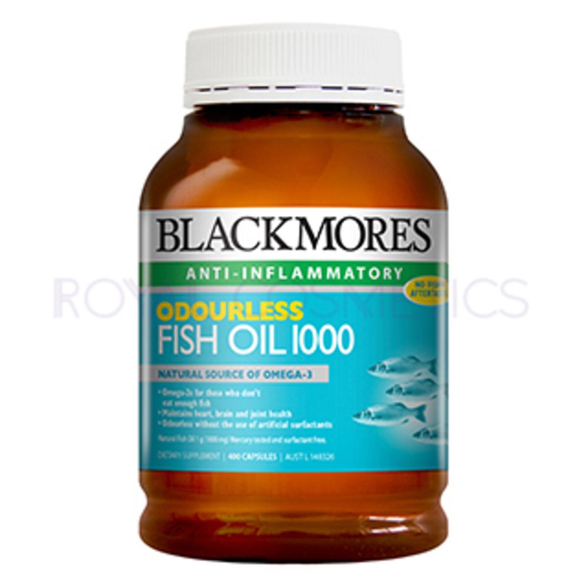 深海魚油 (無魚腥味) 400粒 (EXP.2020.10) [平行進口貨]