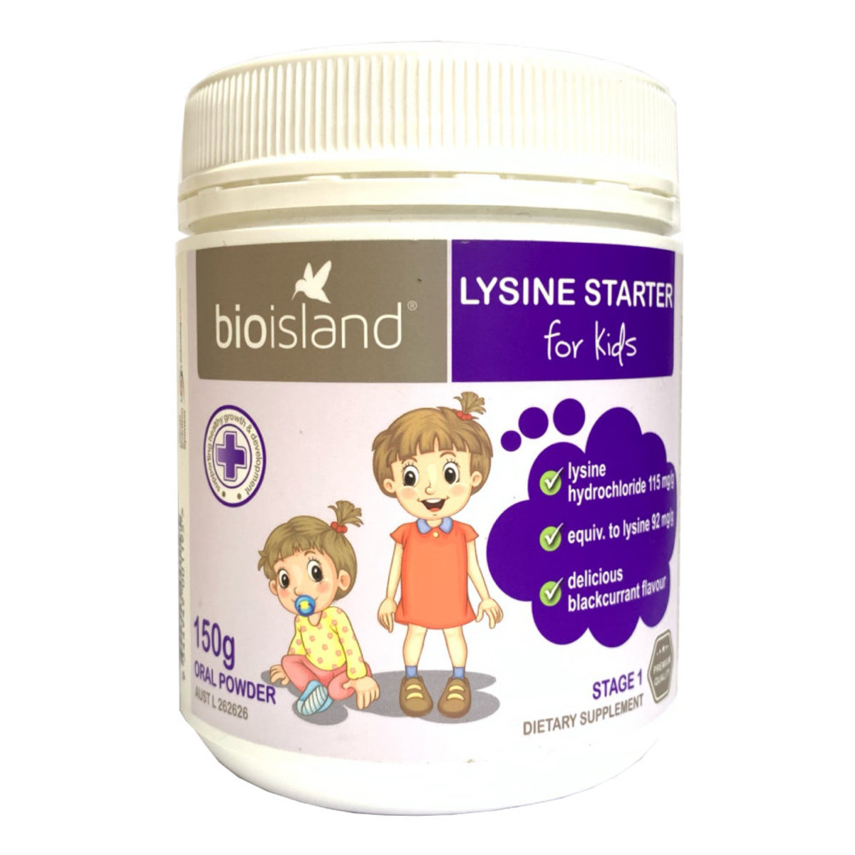 Lysine Started for Kids Oral Powder 150g [Parallel Import] (9344949001195)