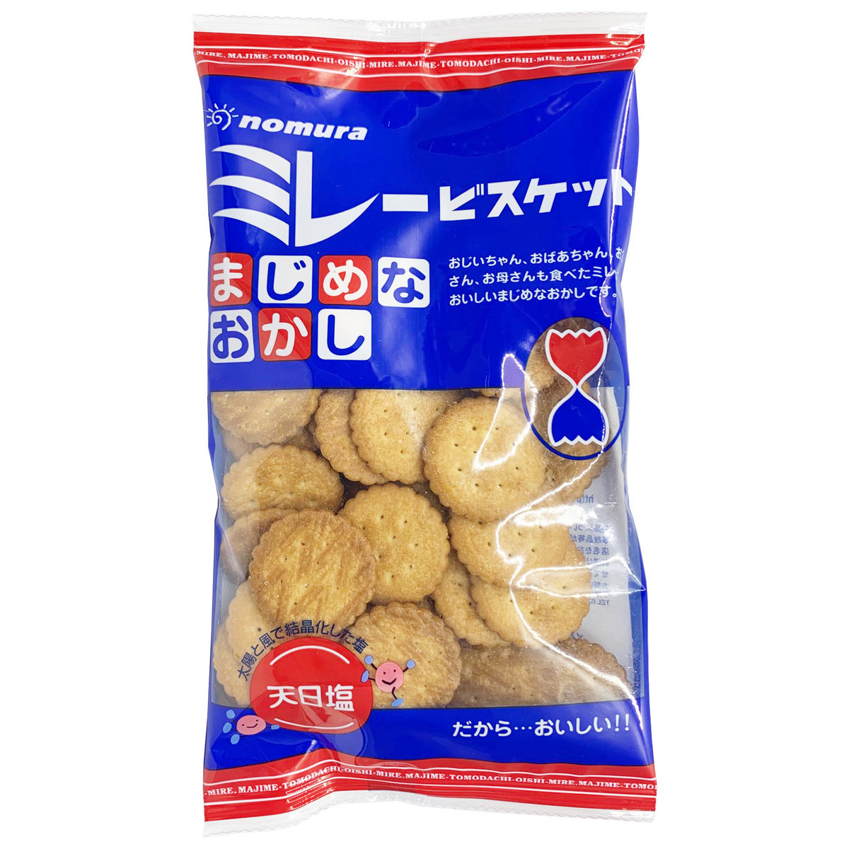 Japan Salty Biscuits 130g [Parallel Import] (EXP2020.09) (4975658000602)