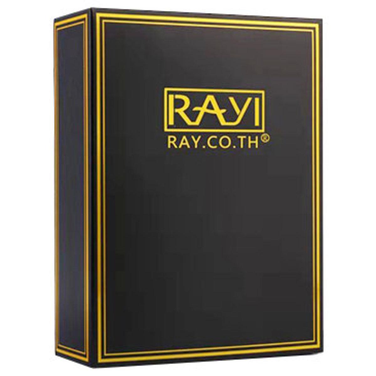 Rayi 黑金面膜 #芮一版 10片 [平行進口] (8859551200177)