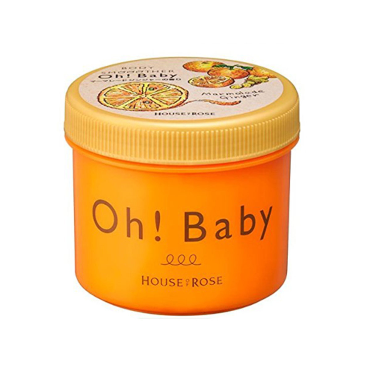 Oh! Baby Marmalade Ginger Body Smoother 350g [Parallel Import] (4977673124462)