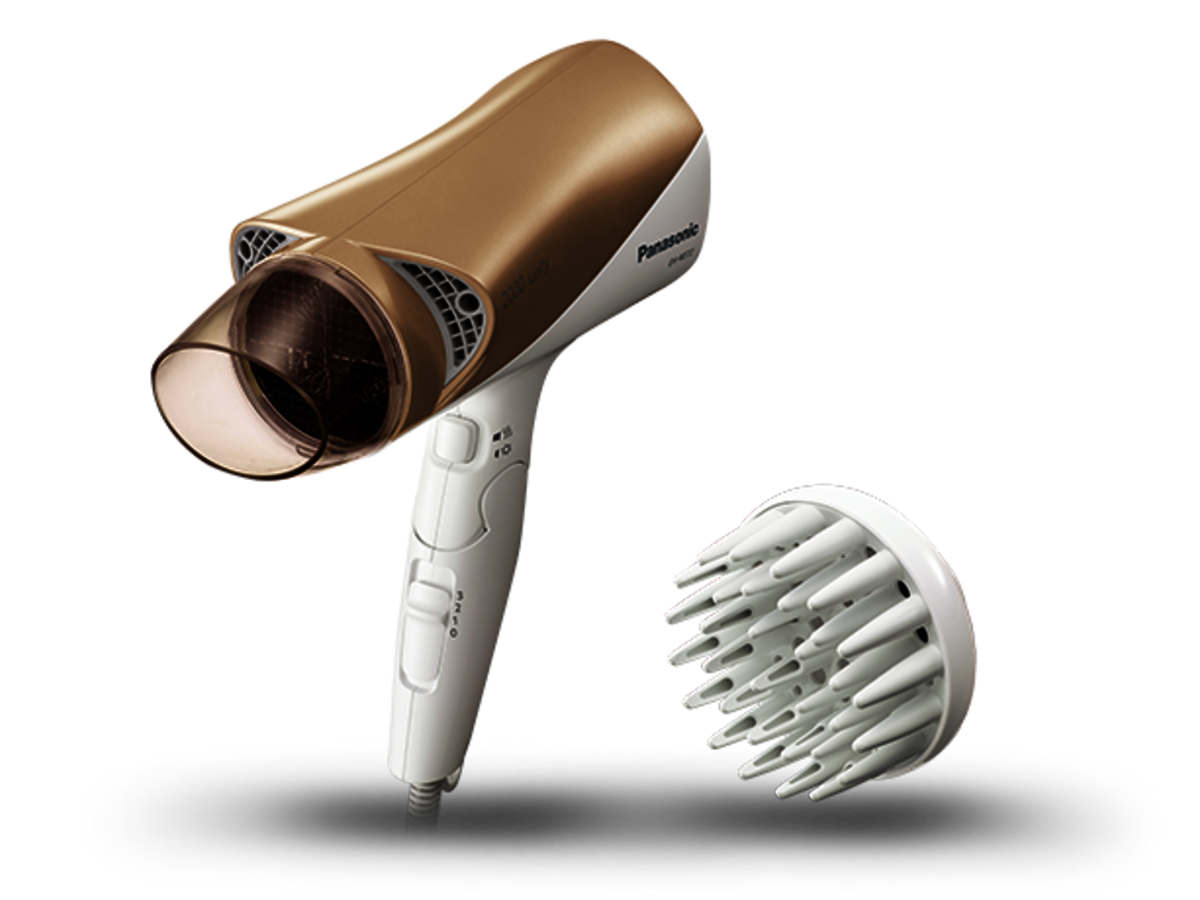 Cool / Hot Twin Airflow Double Ionity Hair Dryer EH-NE72 (Authorized Imported)