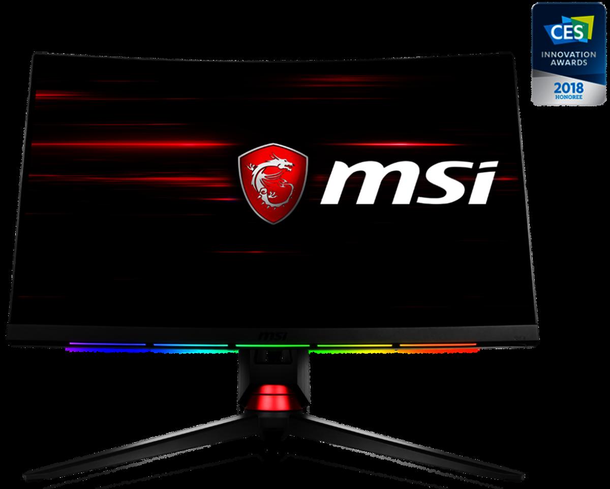 """Optix MPG27CQ 27"""" 2560 x 1440 144Hz Gaming Monitor"""