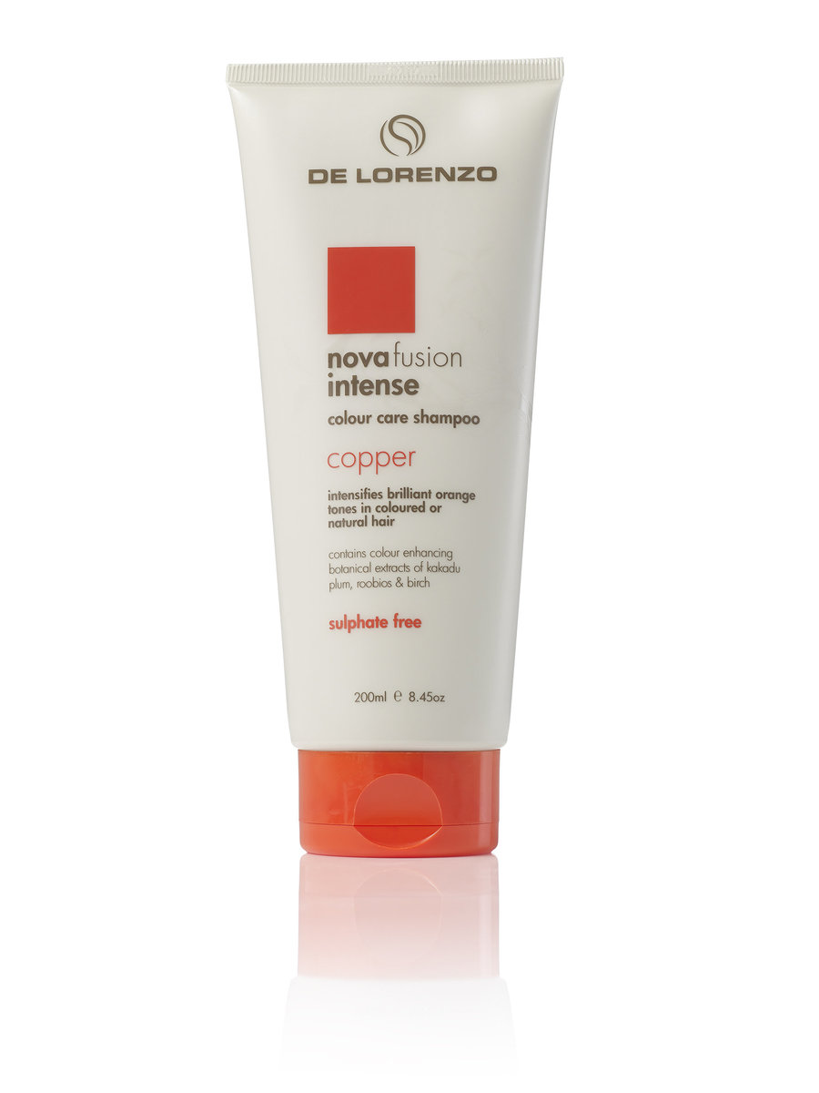 De Lorenzo Novafusion Colour Care Shampoo (Intense Copper) 200ml