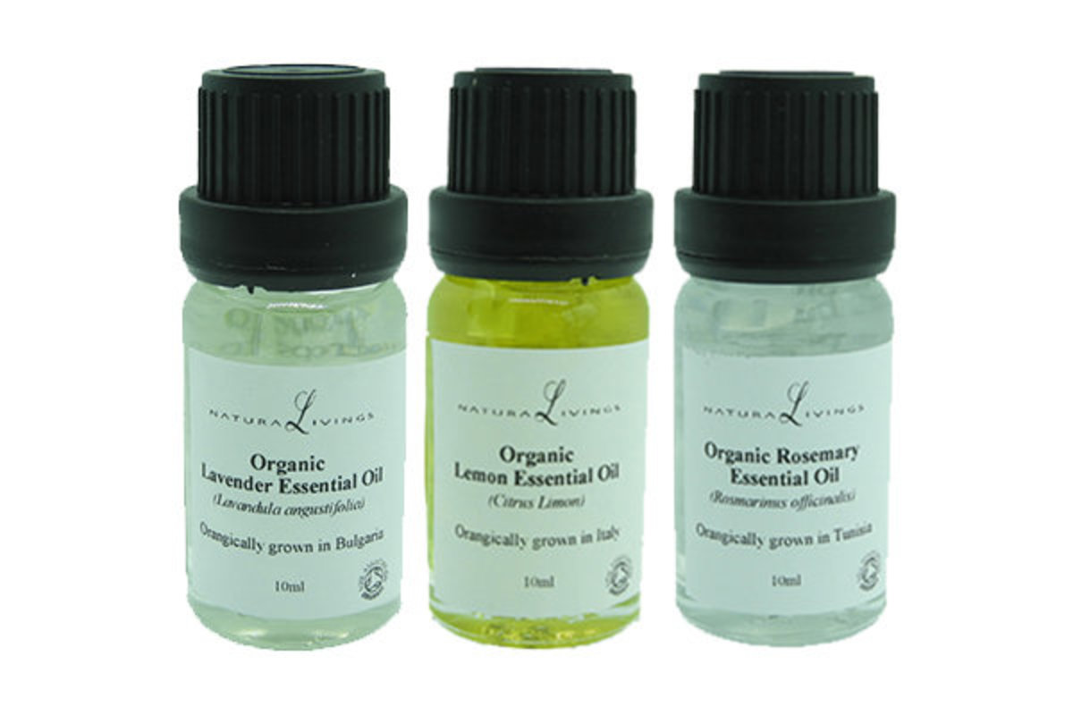 Organic Essential Oil (Fresh & Clean Air Combo)