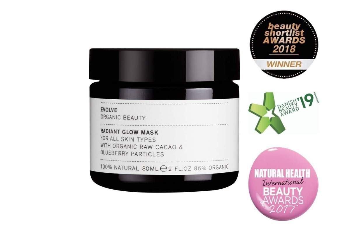 Radiant Glow Organic Mask 30ml