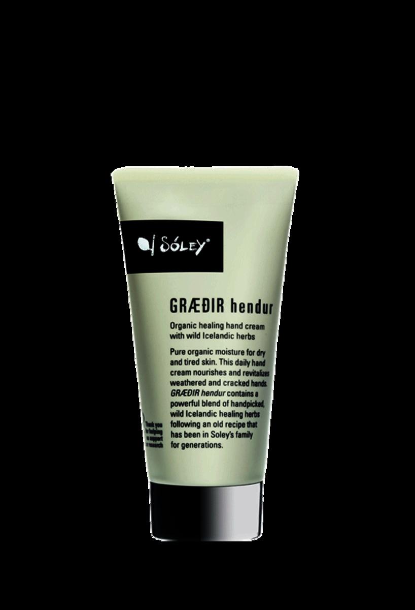 Solely Organic, Græðir Organic Hand cream