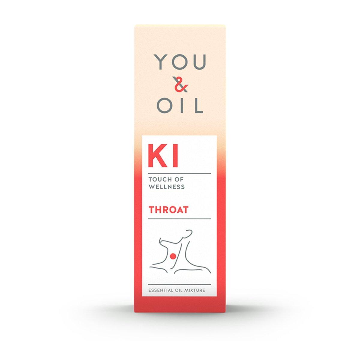 You and Oil, KI - 喉嚨不適