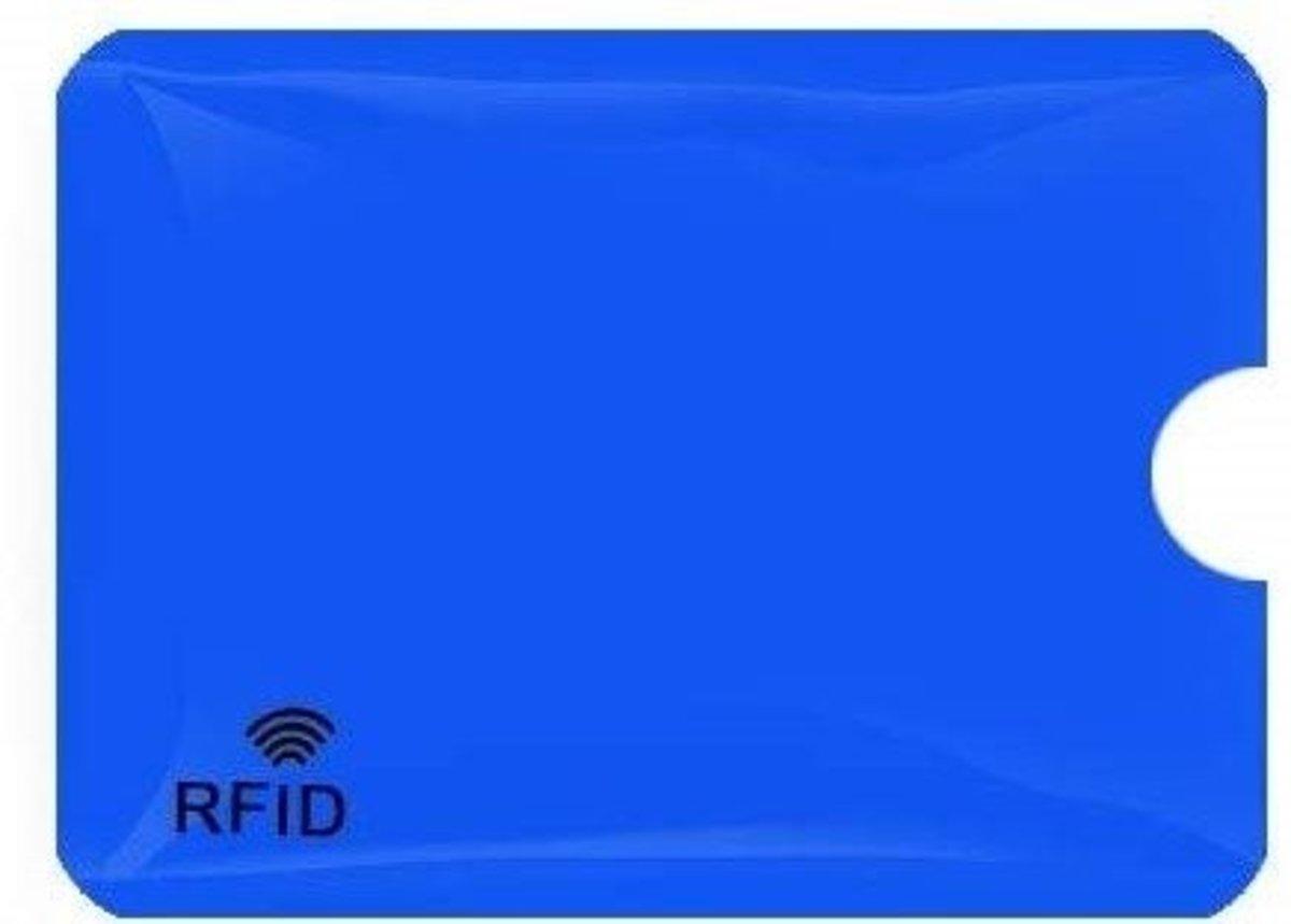 RFID安全防盜刷NFC卡套(20咭套), 藍色