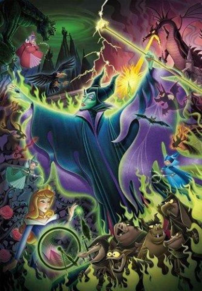 Tenyo - Spell Gift (Sleeping Beauty) 500pcs Puzzle [Licensed by Disney]