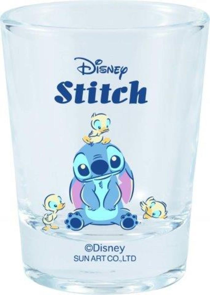 Sunart - Mini Glass Cup - Stitch/Bird