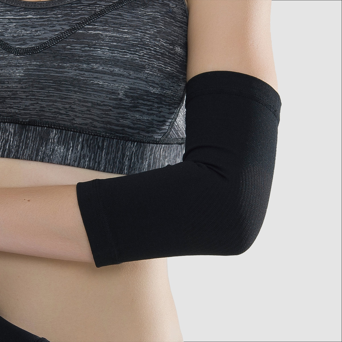 Compression Elbow Sleeves (1 Pair) [Unisex]