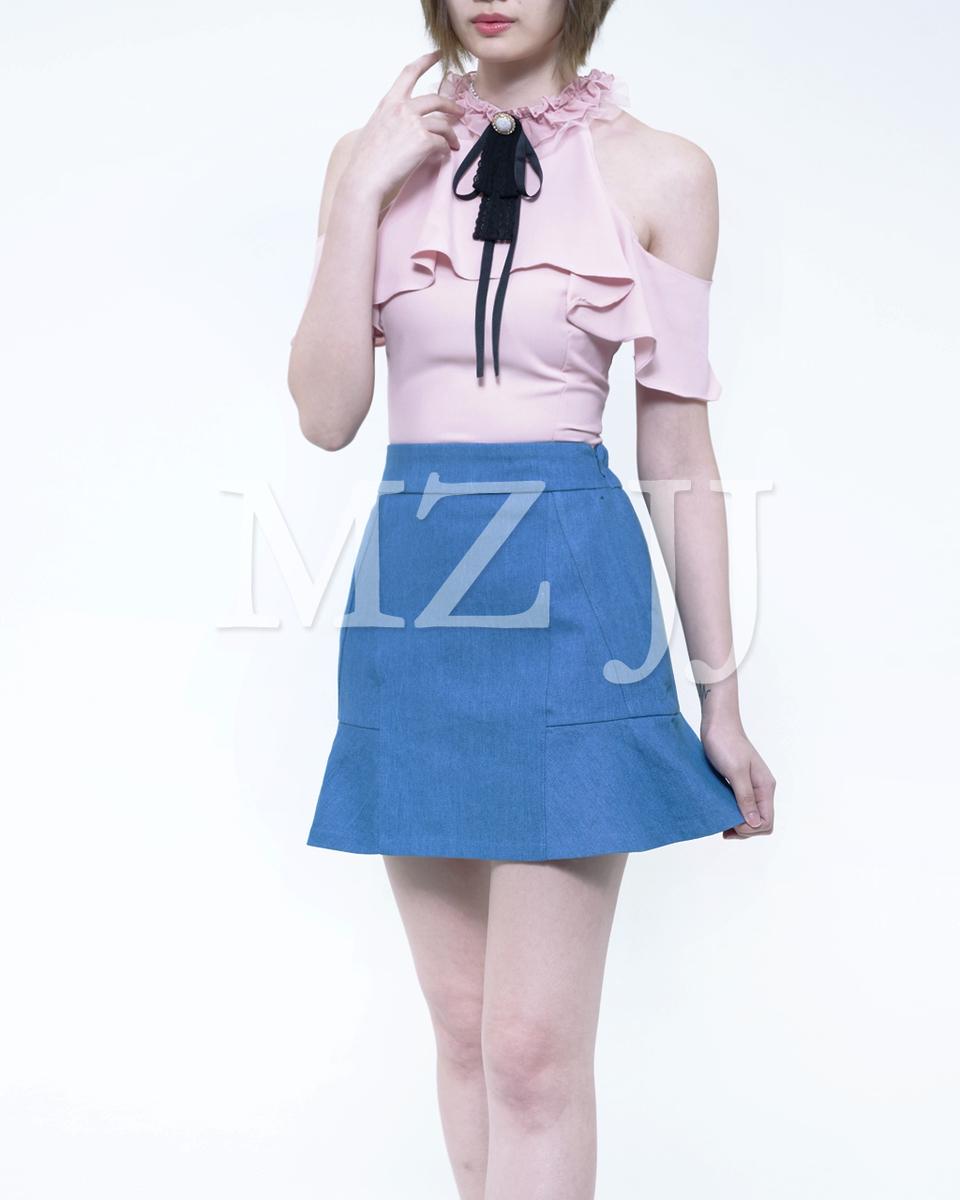 Korea Fashion Slim Cut Top