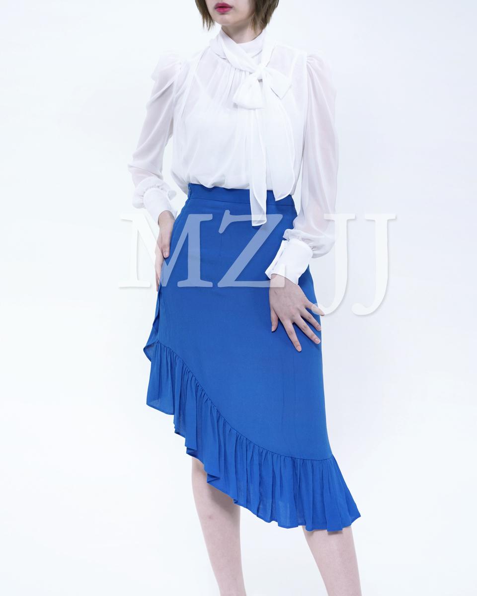 韓國時尚雪紡恤衫