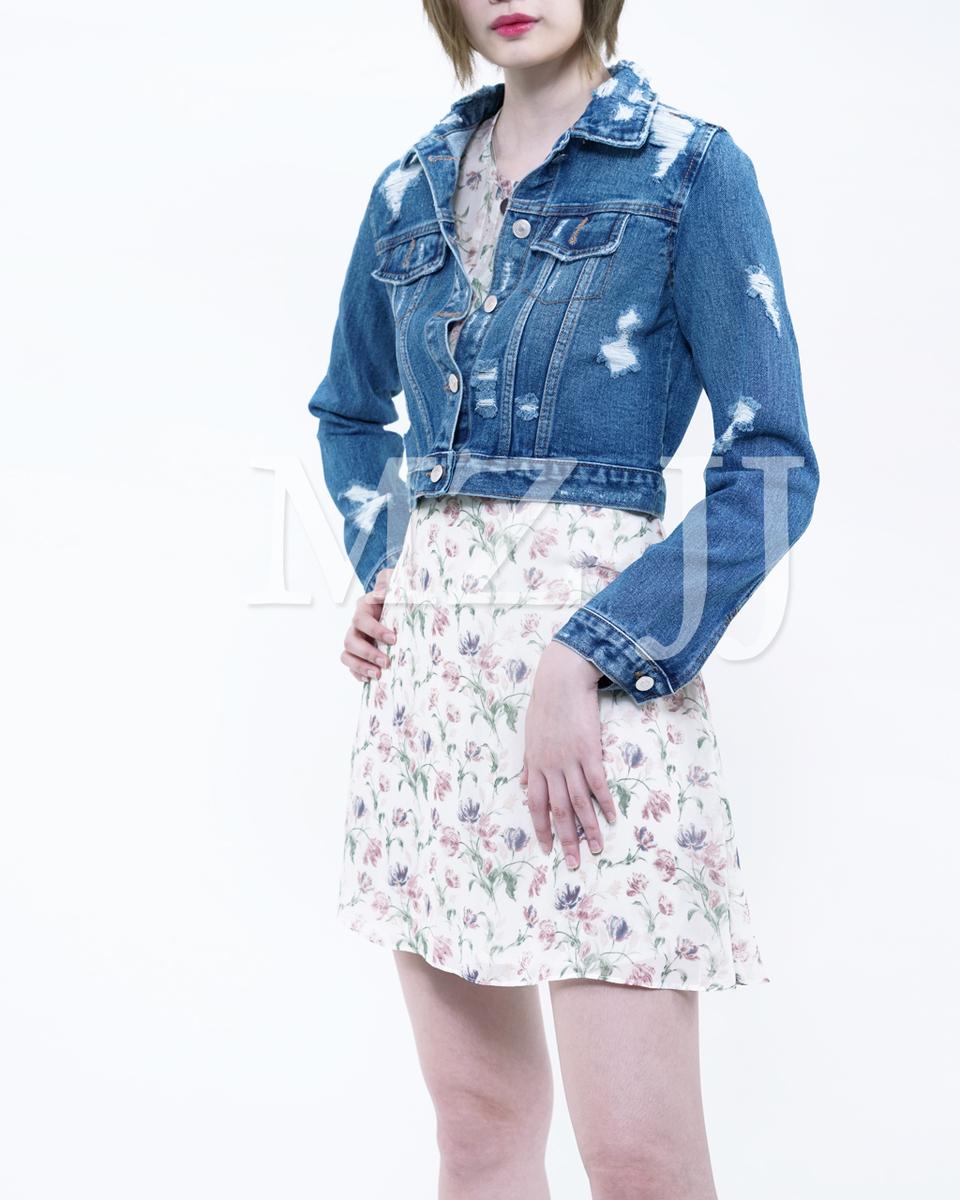 Korea Fashion Denim Jacket