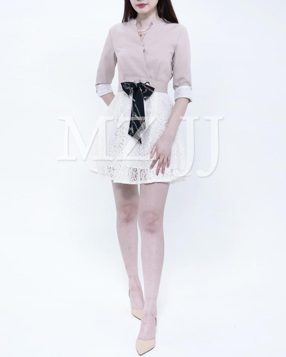 韓國時尚修身連身裙