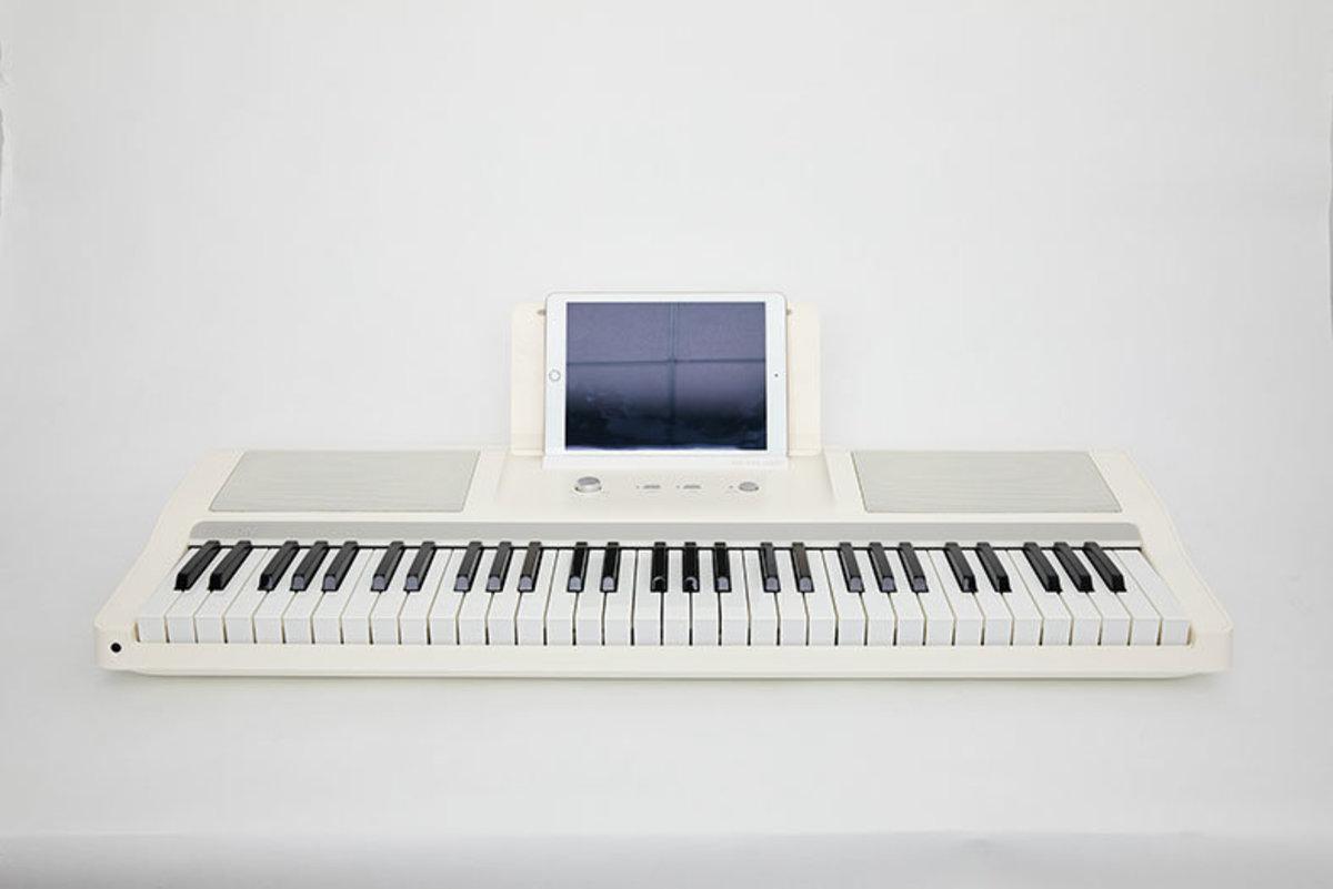 智能電子鍵盤 (電子琴盤) - 米白色