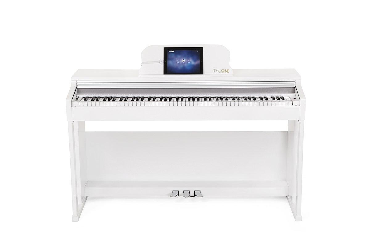 智能鋼琴旗艦版 Top1 (連單人琴櫈) - 白色