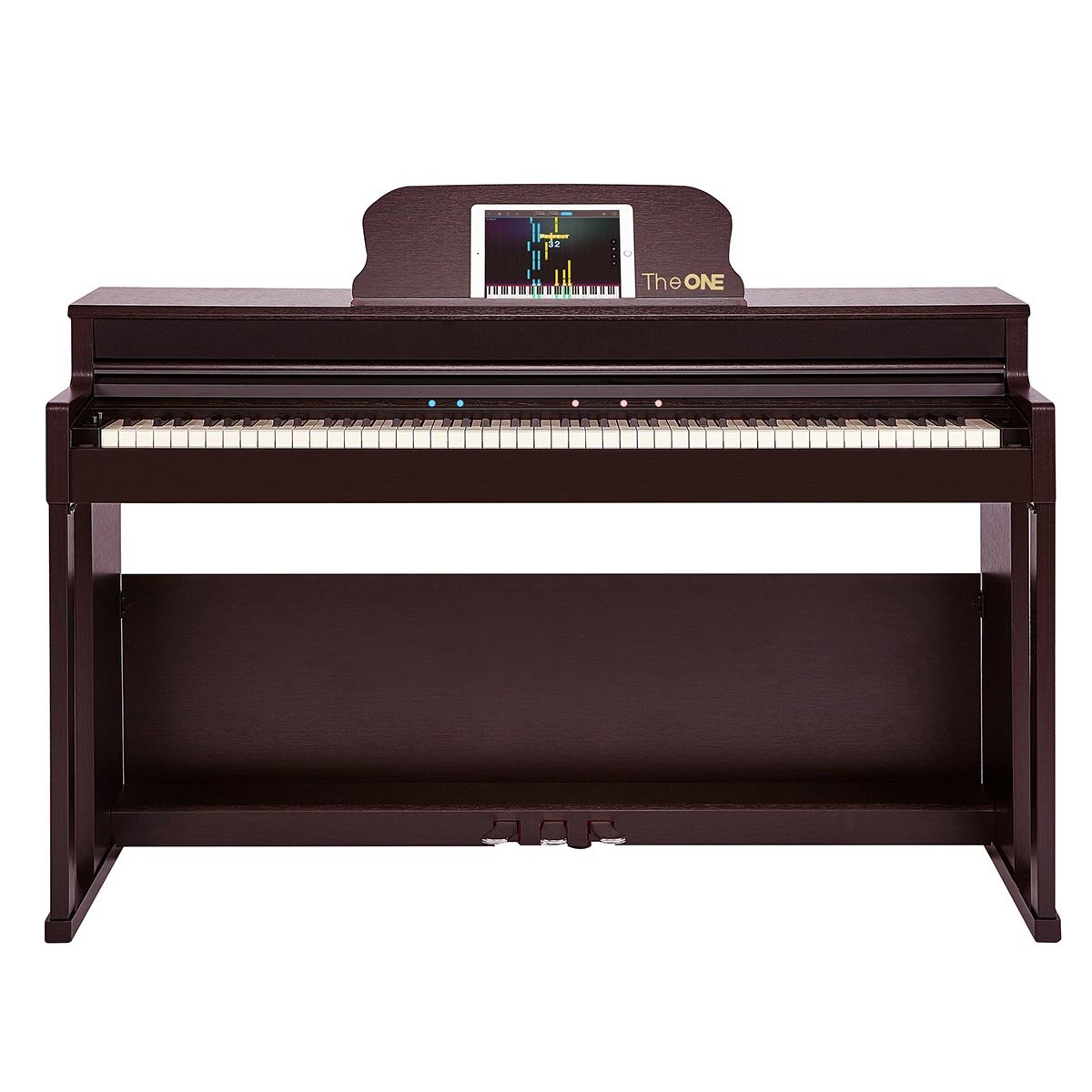 Smart Piano Top2  (piano bench is included) - Brown