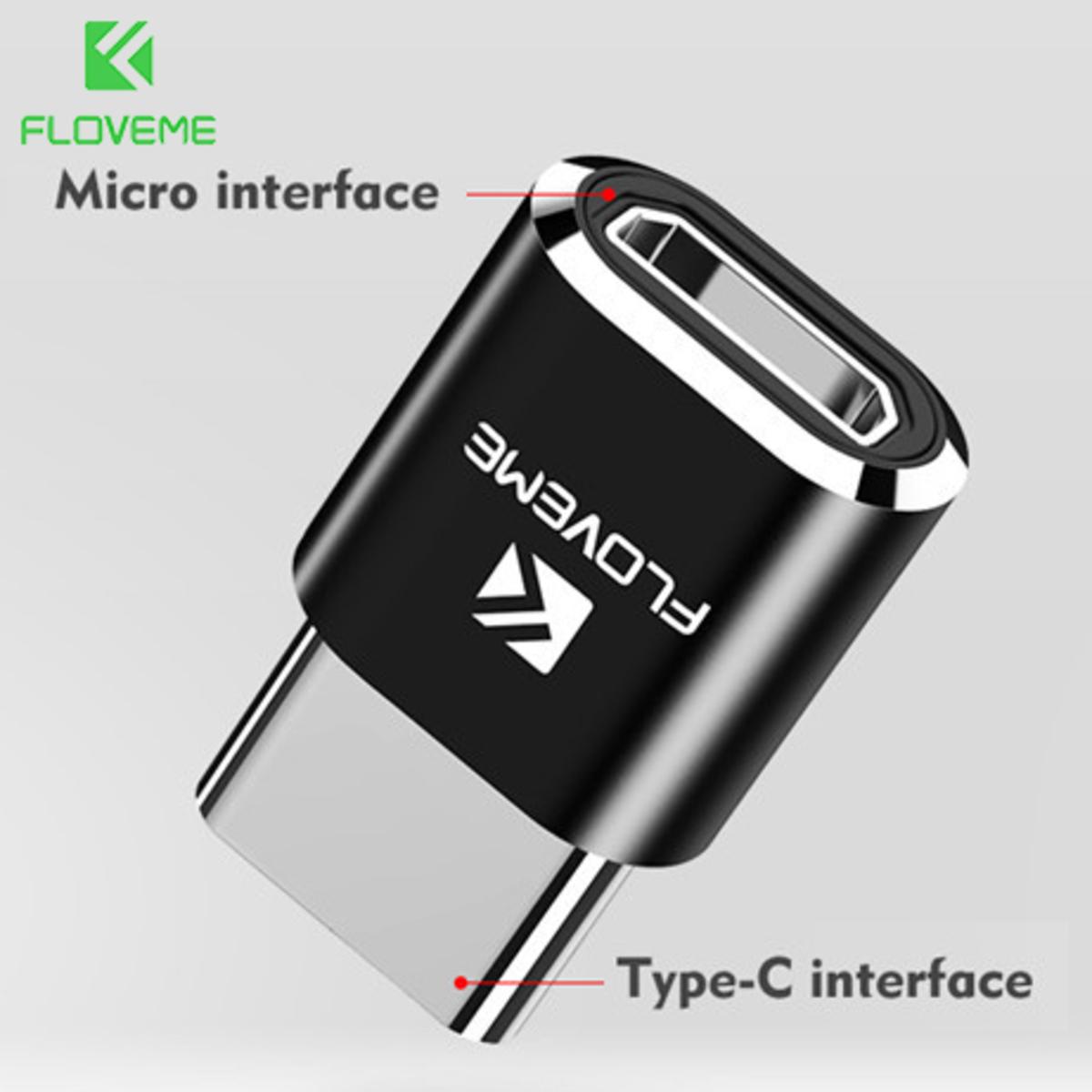 Micro USB 轉 Type C 頭 OTG 轉換器 鋁合金 傳輸 充電