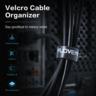 5M Reusable Organizer Velcro USB Cable Straps