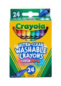 Crayola Crayola 超強可水洗蠟筆24支