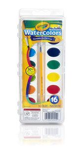 Crayola Crayola 16 色水彩連畫筆