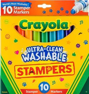 Crayola Crayola 超強易清洗印章水筆10支