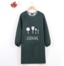(Green) Pithy Multi Apron (Long Sleeve)
