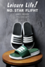 (Size: 42-43 Green) Casual Shoes Sport Fashion Shoes