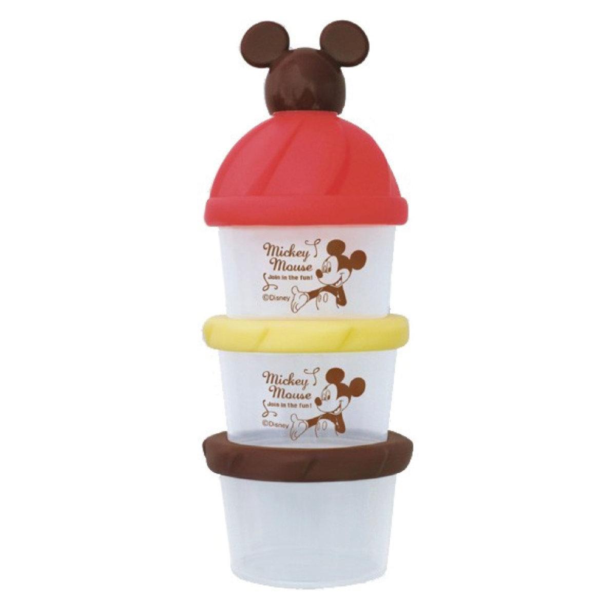 米奇三層式奶粉或食物盒 (平行進口)