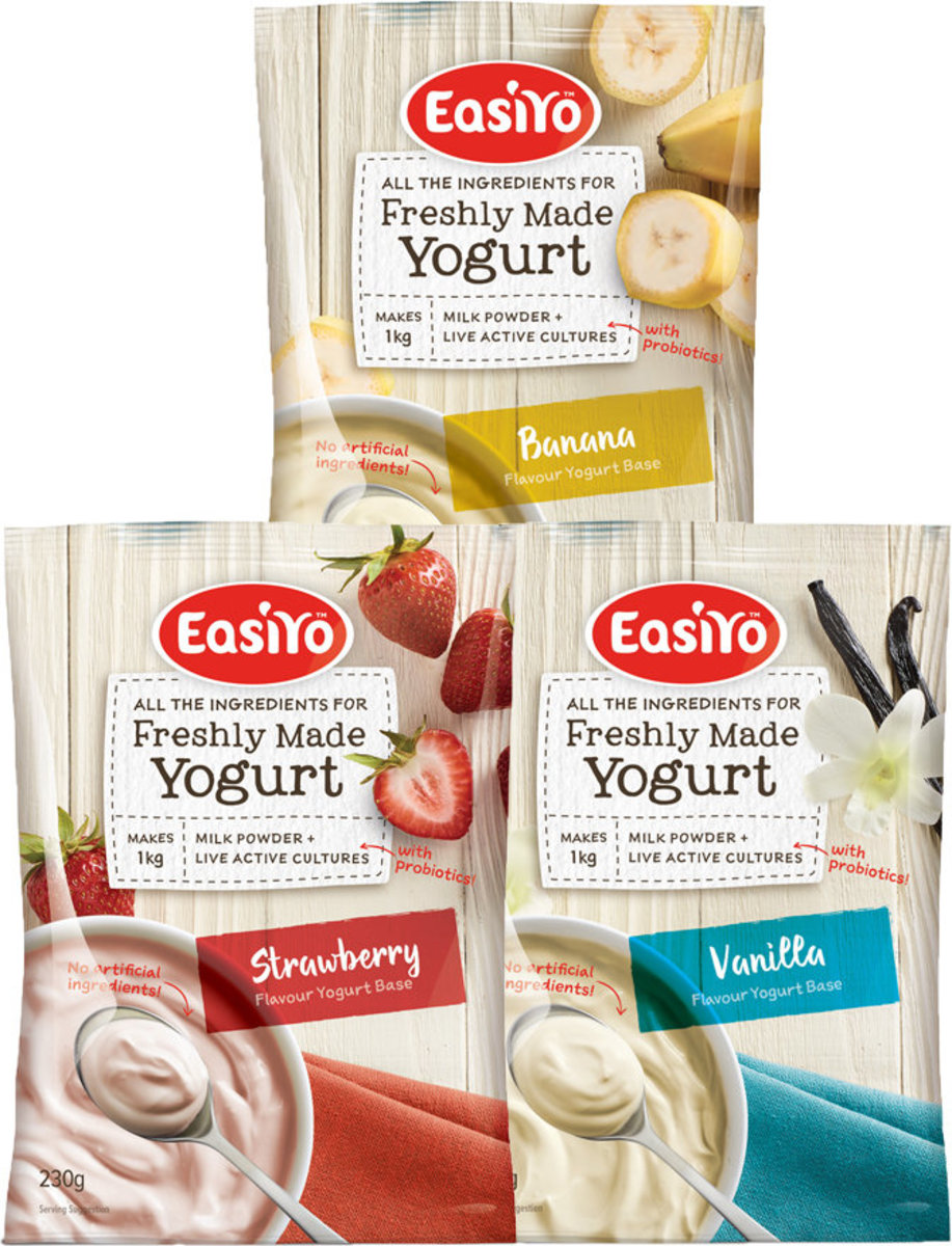 Easiyo Strawberry Yoghurt Mix 230g