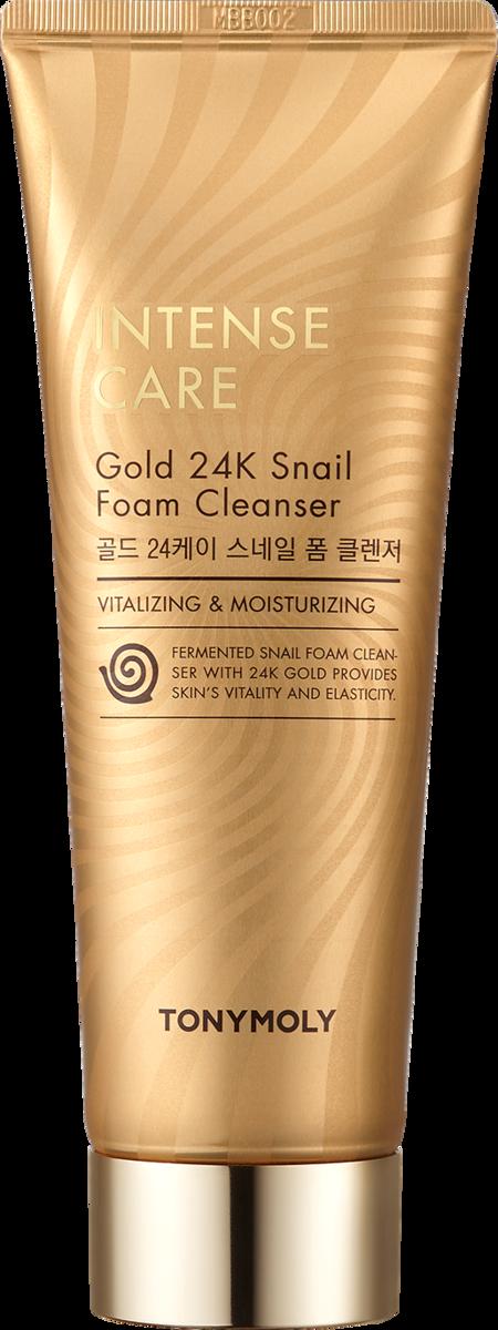 INTENSECARE GOLD 24K SNAIL FOAM CLEANSER
