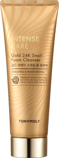 INTENSECARE GOLD 24K SNAIL FOAM CLEANSER
