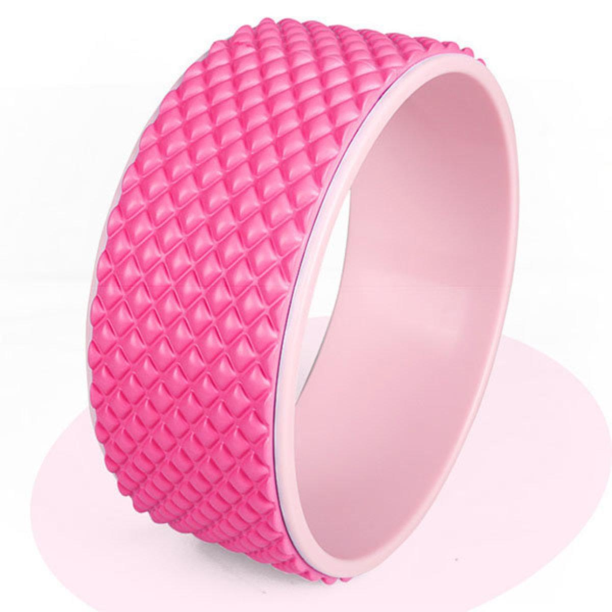 3D按摩瑜珈輪-粉紅色