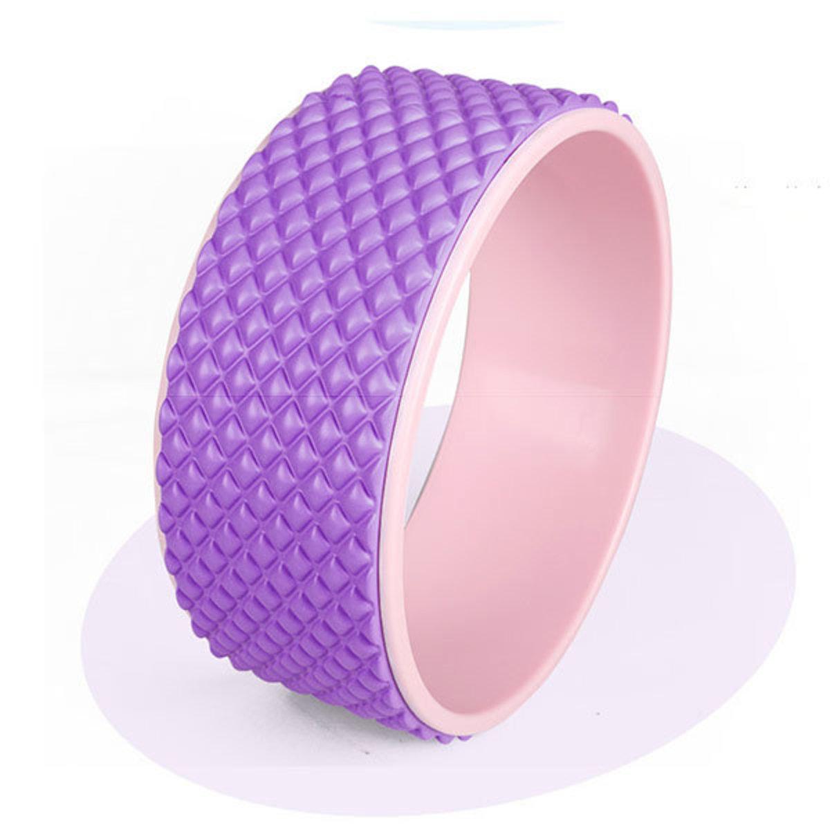 3D按摩瑜珈輪-紫色