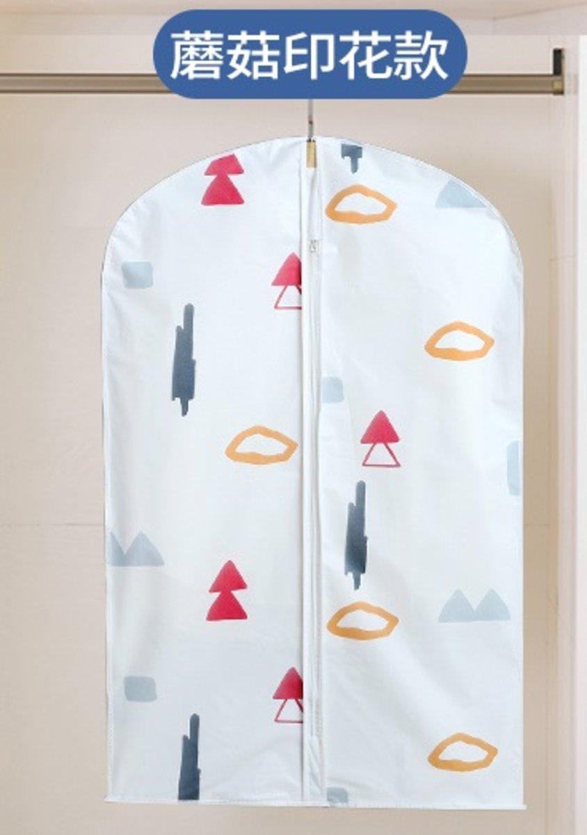 Clothing Dustproof Cover(XLx5 + Lx5 +Mx5)-Mushroom